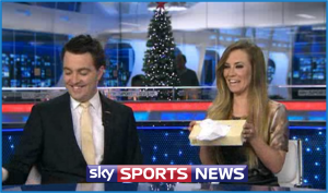 Georgie Thompson bids farewell to Sky Sports News