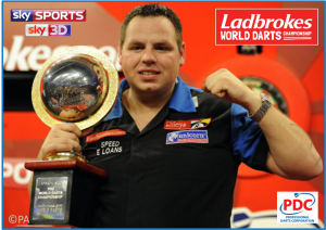 DARTS: PDC Ladbrokes World Championship 2012 – Live on Sky Sports