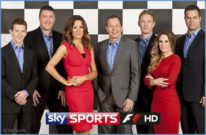 FORMULA 1: Sky Sports unveils 2012 on-screen team