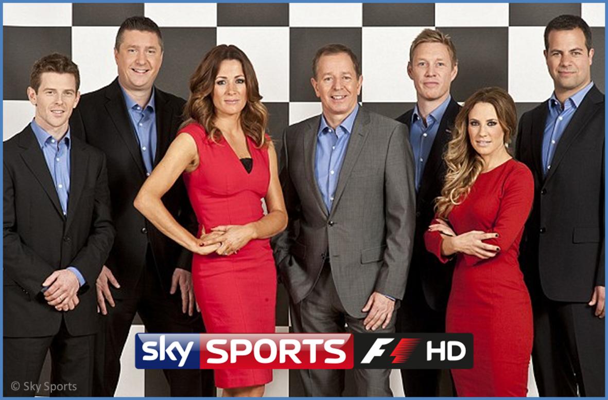 Formula 1 Sky Sports Unveils 2017 On Screen Team