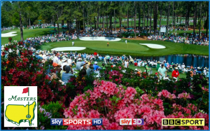 GOLF: The Masters 2012 – Live on BBC & Sky Sports