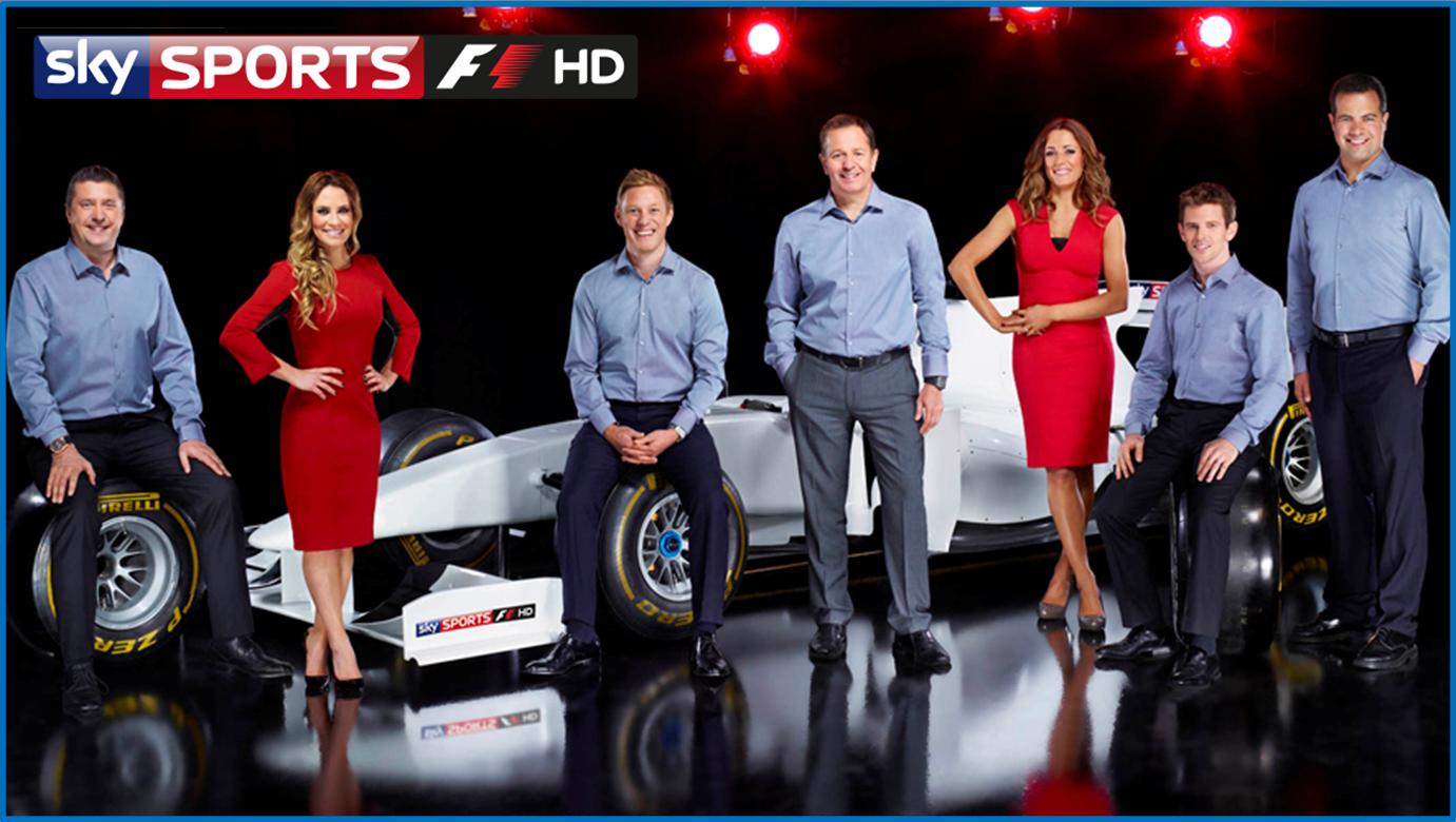FORMULA 1: 2012 season on Sky Sports F1 HD - Everything ...