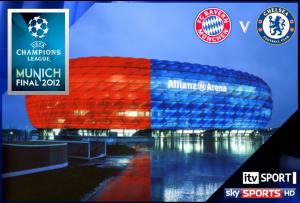 FOOTBALL: UEFA Champions League Final 2012 – Live on ITV1 & Sky Sports