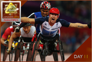 London 2012 Paralympics Watch – Day 11