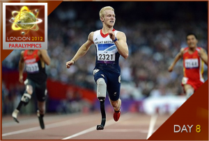 London 2012 Paralympics Watch – Day 8