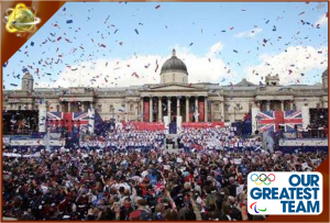 London 2012: Our Greatest Team Parade – Live on BBC One, Channel 4 and Sky News