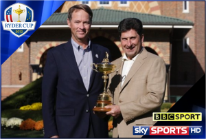 GOLF: Ryder Cup 2012 on Sky Sports & BBC TV