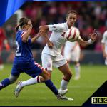 FOOTBALL: Women's International – France v England – Live on BBC Three