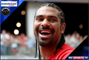 David Haye signs deal with Matchroom and Sky Sports