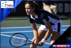 Sky Sports to screen Great Britain's Fed Cup tie against Argentina