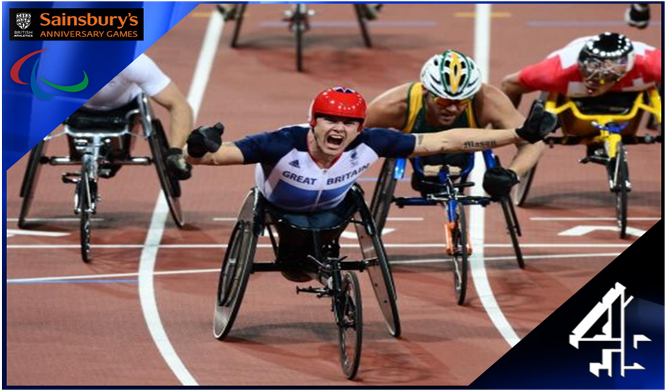 Channel 4 to screen three major para-athletics events in 2013