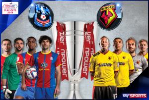 Championship Play-Off Final 2013 – Crystal Palace v Watford – Live on Sky Sports