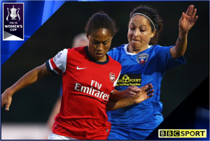 FA Women's Cup Final 2013 – Arsenal v Bristol Academy – Live on BBC Two