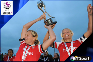 BT Sport to screen FA WSL games
