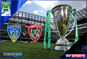 Heineken Cup Final 2013 – Clermont Auvergne v Toulon – Live on Sky Sports & Sky 3D
