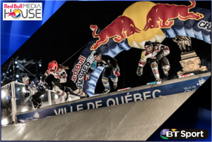 BT Sport joins forces with Red Bull Media