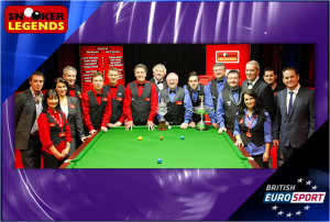 Snooker Legends Cup – Live on British Eurosport