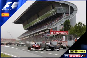 Spanish Grand Prix 2013 – Live on BBC TV & Sky Sports F1