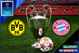 UEFA Champions League Final 2013 – Dortmund v Bayern – Live on ITV & Sky Sports
