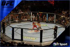 BT Sport signs three-year UFC deal
