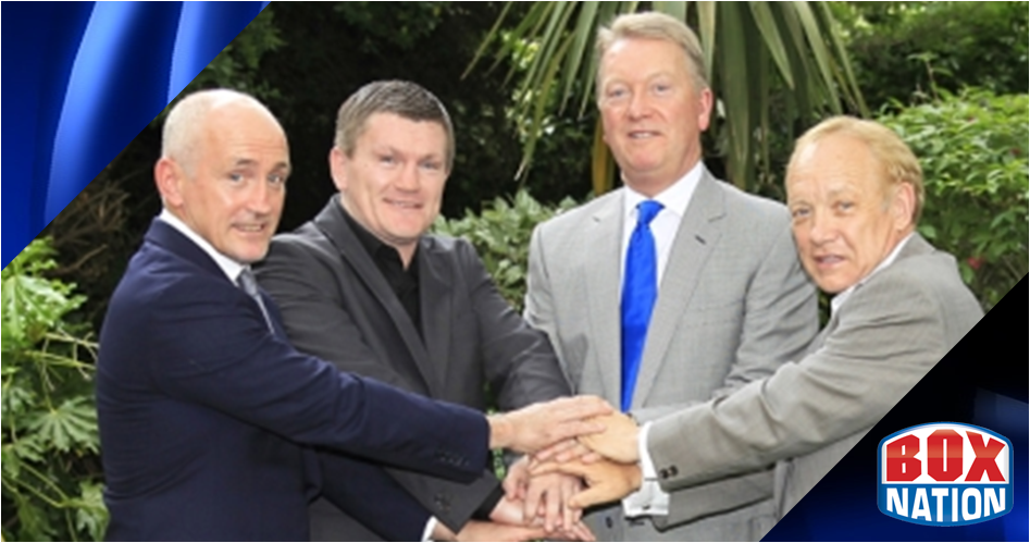 Hatton, Maloney, McGuigan join forces with BoxNation