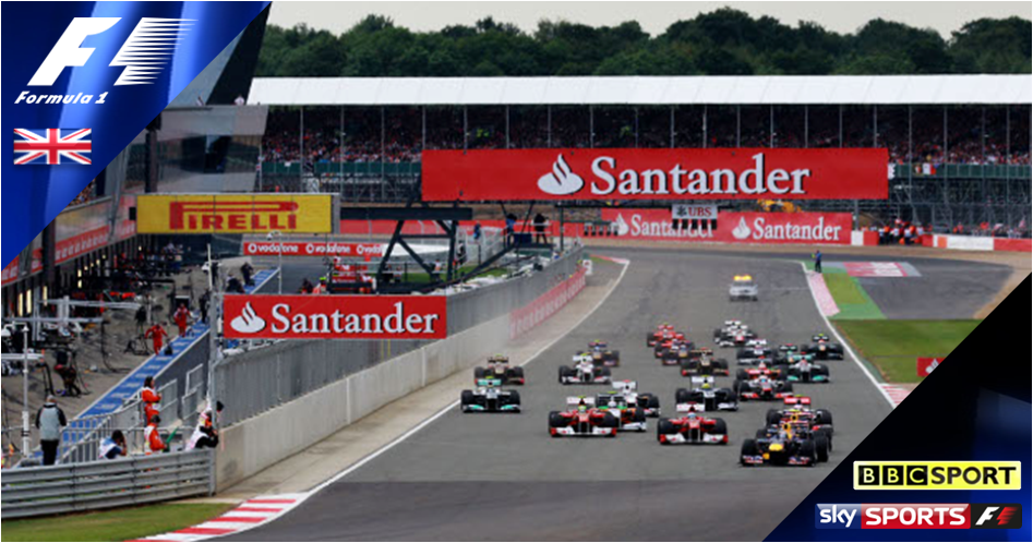 British Grand Prix live on BBC & Sky Sports F1