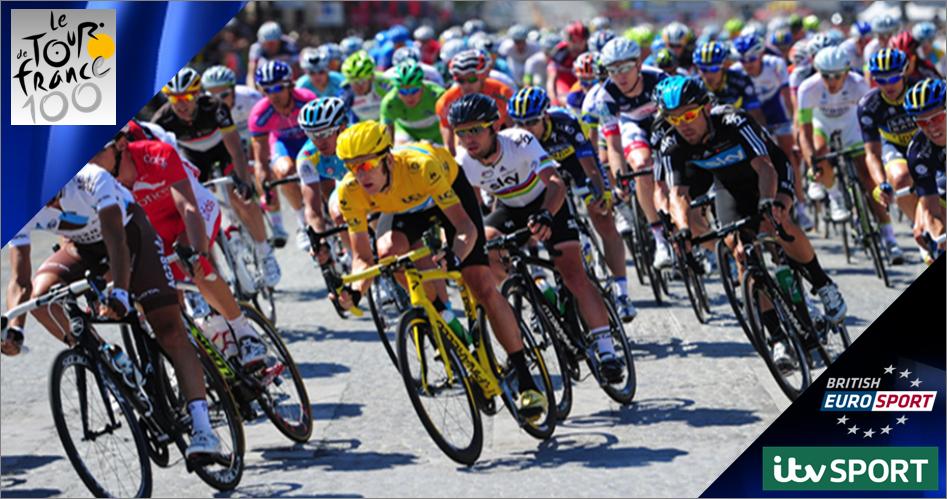 Tour de France 2013 live on ITV4 & Eurosport