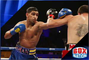 Amir Khan v Julio Diaz live on BoxNation