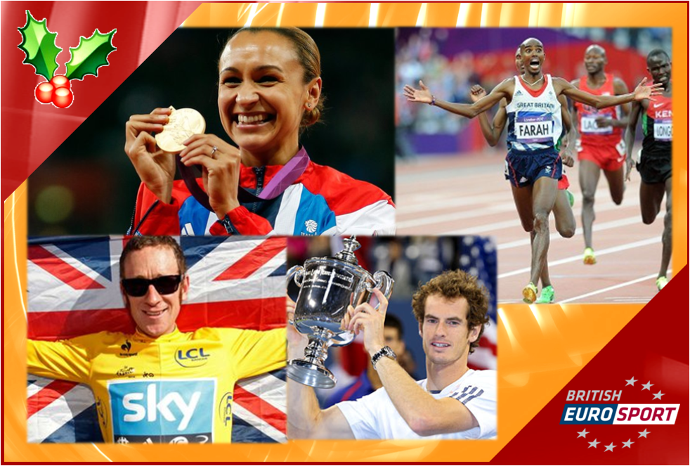 XMAS WATCH: British Eurosport celebrates Britain's 2012 stars with three special programmes‏