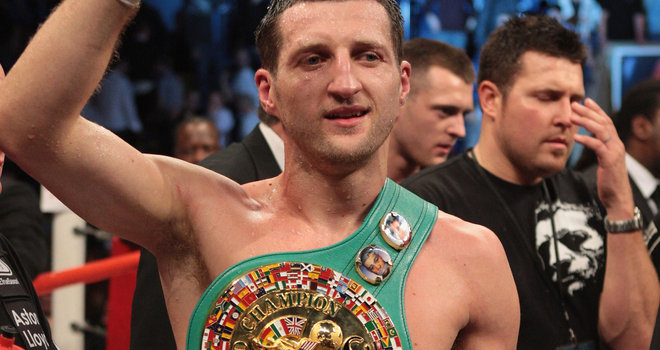 BOXING: Froch v Ward – Super Six final live on Sky
