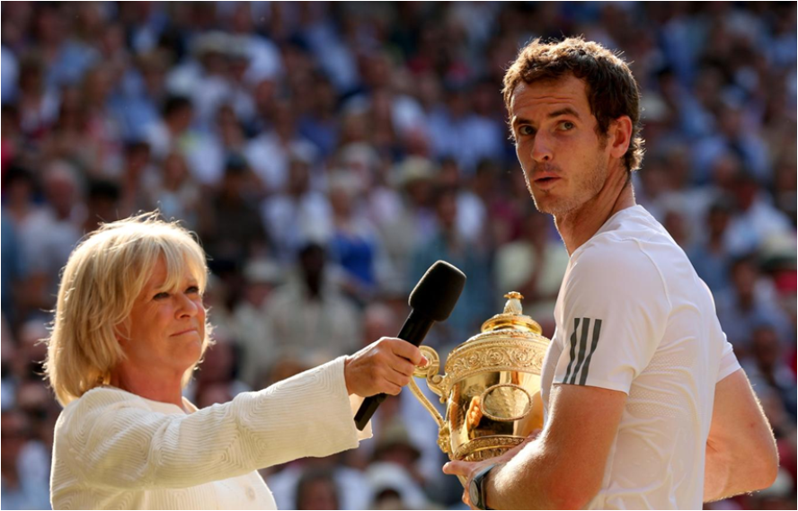 Andy Murray's Wimbledon triumph watched by 17m on BBC One