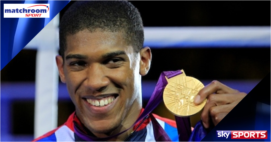 Anthony Joshua signs for Matchroom & Sky