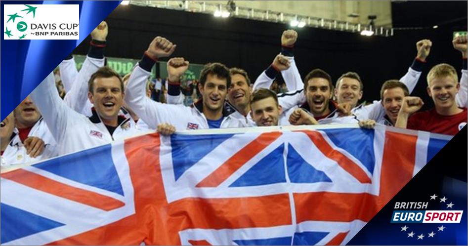 Eurosport secures Croatia v GB Davis Cup tie