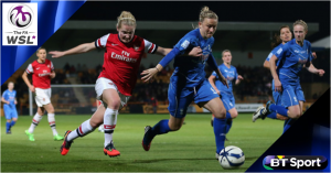BT Sport announces opening FA WSL games