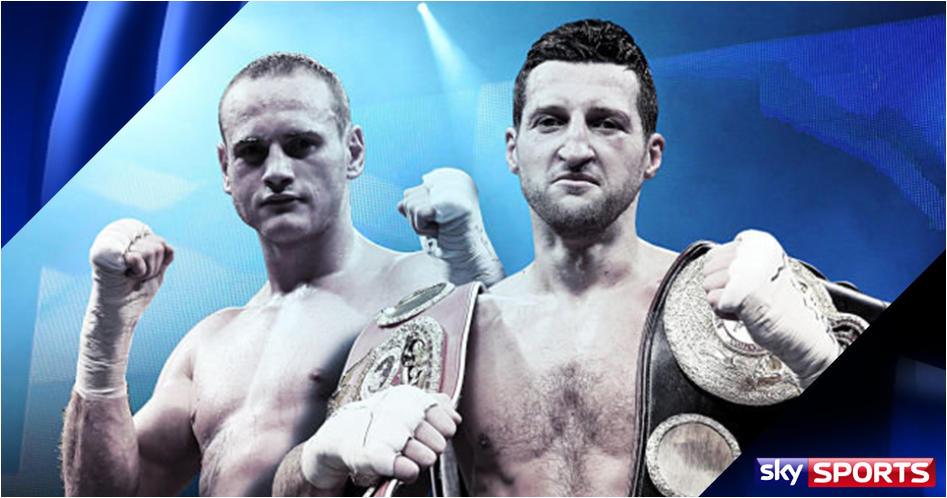 Froch and Groves in world title clash live on Sky Sports this winter