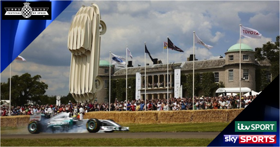 Goodwood Festival of Speed 2013 on Sky Sports & ITV
