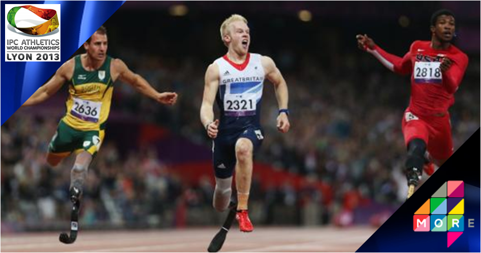 IPC Athletics World Championships 2013 live on More4