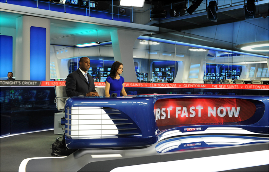 Vernon Grant: 15 years of Sky Sports News