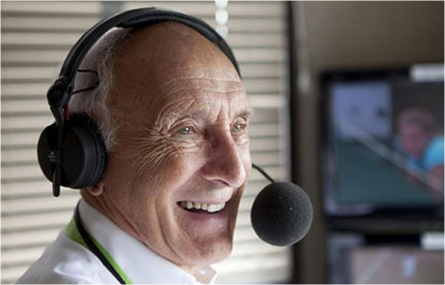 Barry Davies steps down as BBC hockey commentator