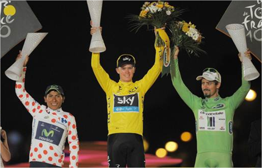 ITV & Eurosport land new Tour de France deal