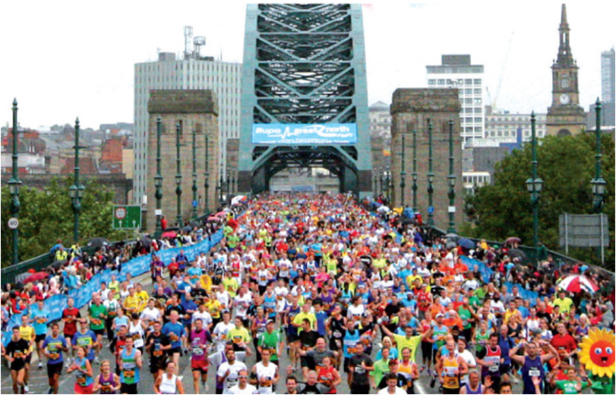 Great North Run 2013 live on BBC One