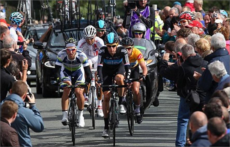 Tour of Britain 2013 on ITV4 & British Eurosport