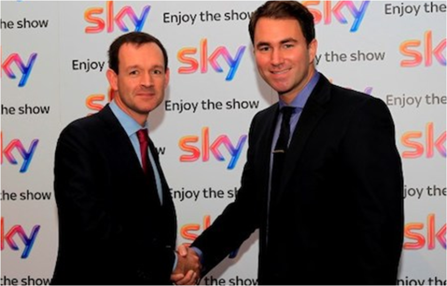 Matchroom & Sky Sports extend boxing partnership