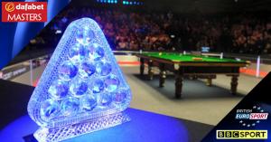 Dafabet Masters 2014 live on BBC & Eurosport