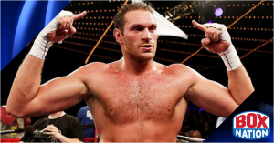 Tyson Fury to fight on BoxNation