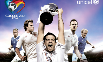 Soccer Aid 2014: England v Rest of the World live on ITV