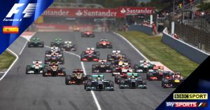 Spanish Grand Prix 2014 live on BBC One & Sky Sports F1