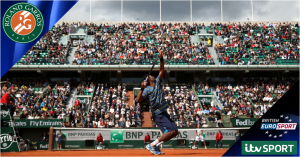 French Open 2014 live on ITV & Eurosport