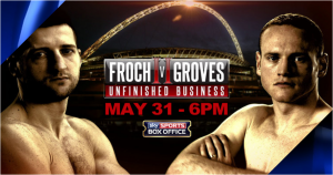 Froch v Groves II live on Sky Sports Box Office
