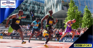Great Manchester CityGames & Run 2014 live on BBC